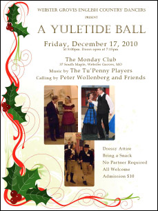 Yuletide Ball flyer